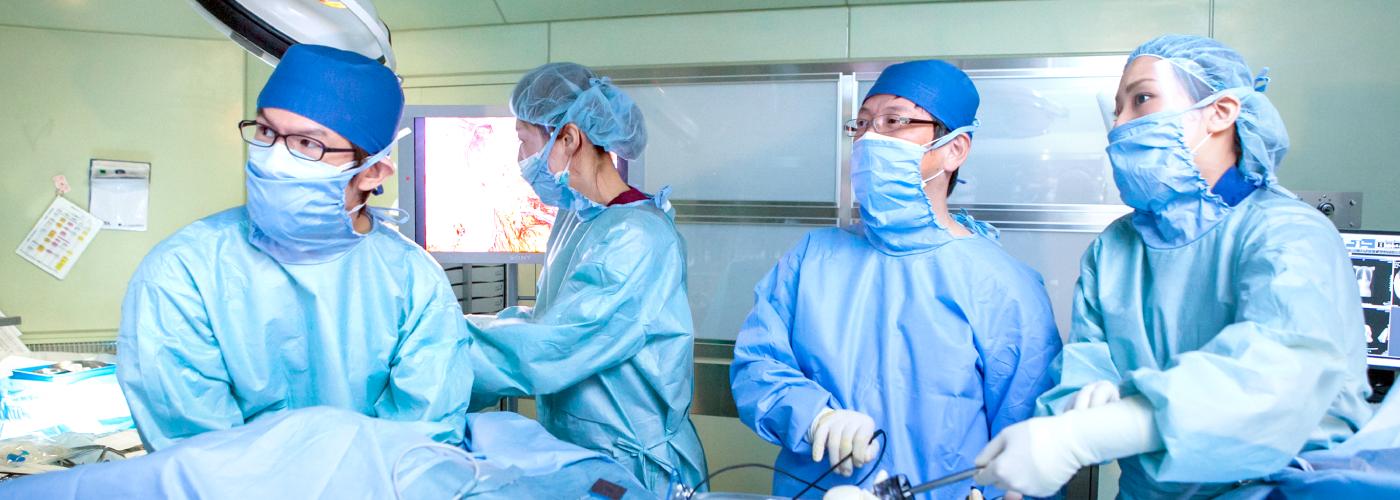 低侵襲手術に特化した消化器外科治療